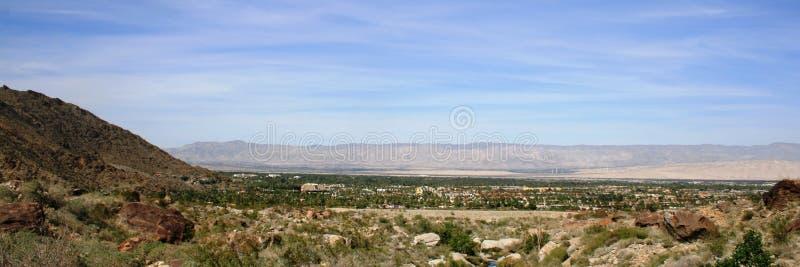 Panorama del Palm Springs fotografia stock libera da diritti