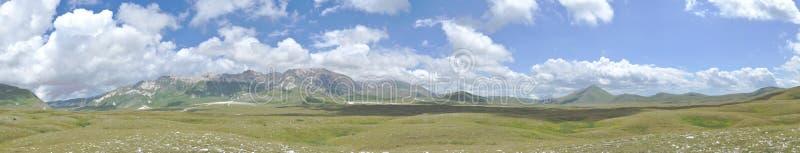 Panorama 1 del parco nazionale di sasso di Gran immagine stock libera da diritti