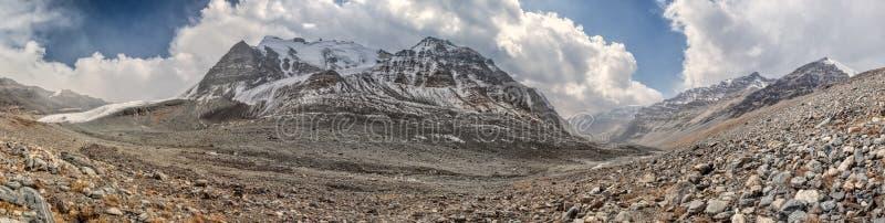 Panorama del Tagikistan immagini stock