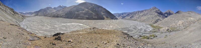 Panorama del Tagikistan fotografia stock
