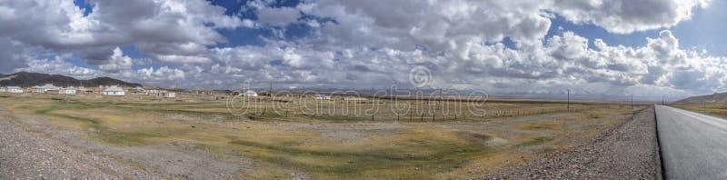 Panorama del Tagikistan fotografie stock libere da diritti