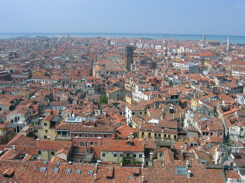Panorama della città fotografia stock