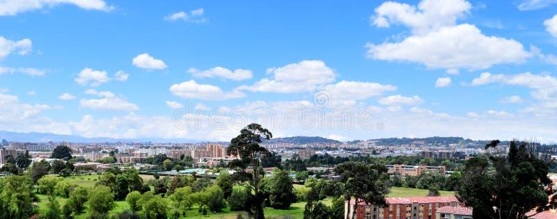 Panorama della città. immagine stock