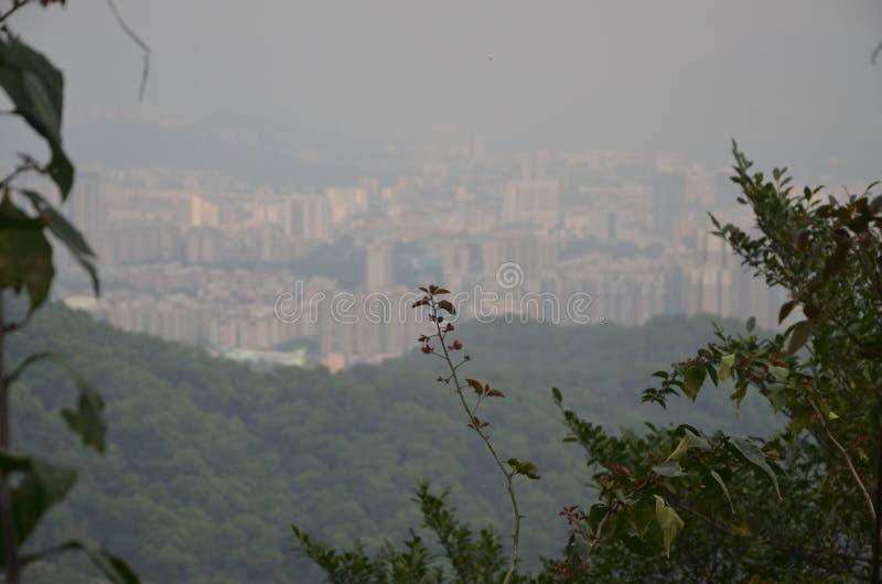 Panorama della citt? fotografie stock libere da diritti