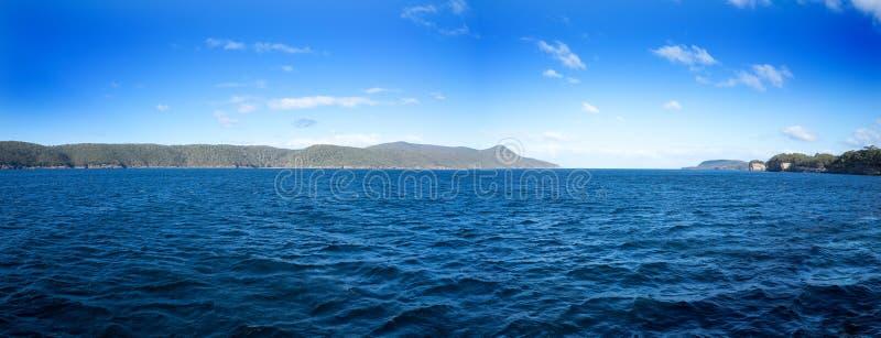 Panorama della Tasmania fotografie stock libere da diritti
