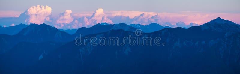 Panorama delle Ande immagine stock