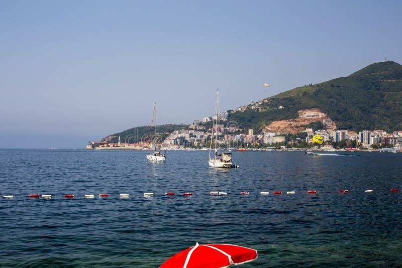 Panorama denny wybrzeże cit obraz royalty free