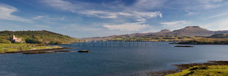 Panorama der Duirinish Halbinsel lizenzfreies stockfoto