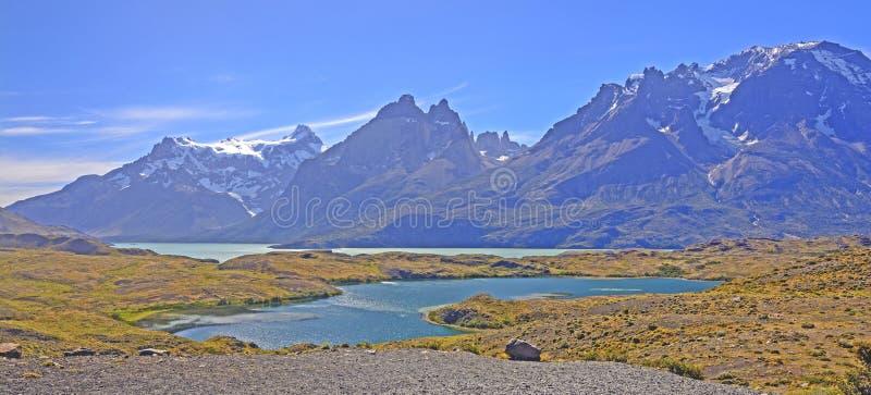 Panorama der Süd-Anden lizenzfreie stockfotografie