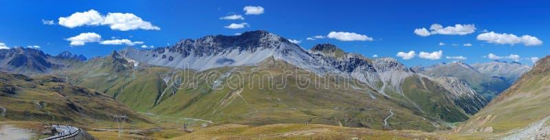 Panorama des Berges Ridge stockfoto