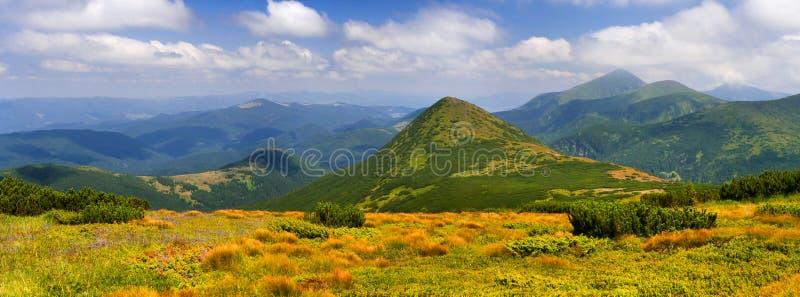 panorama des montagnes photos libres de droits