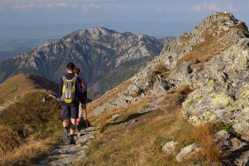 Panorama des montagnes de Tatra photo libre de droits