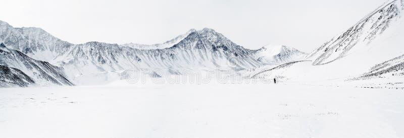 Panorama des montagnes orientales de Sayan. Altai. image libre de droits
