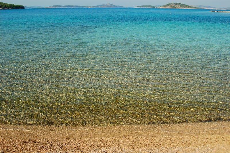 Panorama desobstruído do mar fotos de stock royalty free