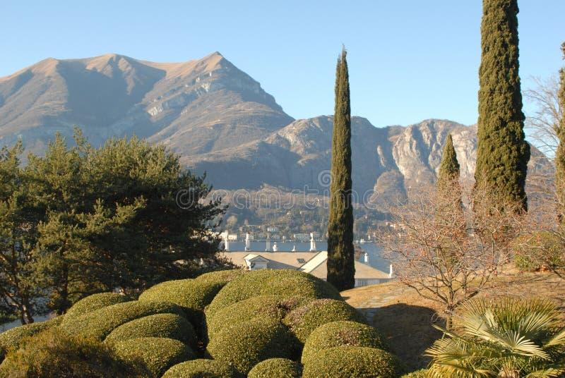 Panorama di Bellagio fotografia stock