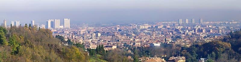 Panorama di Bologna fotografia stock libera da diritti