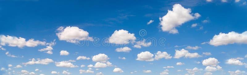 Panorama di Cloudscape fotografia stock libera da diritti
