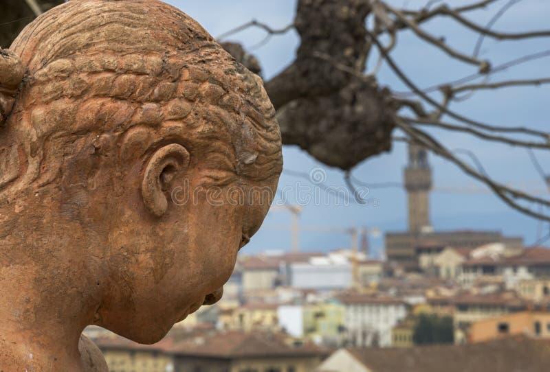 Panorama di Firenze fotografia stock