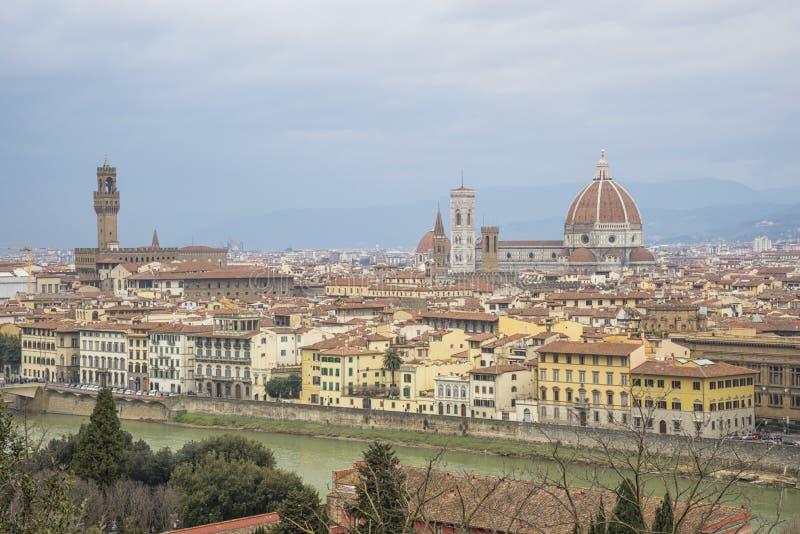 Panorama di Firenze immagine stock libera da diritti