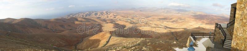 Panorama di Fuerteventura fotografie stock libere da diritti