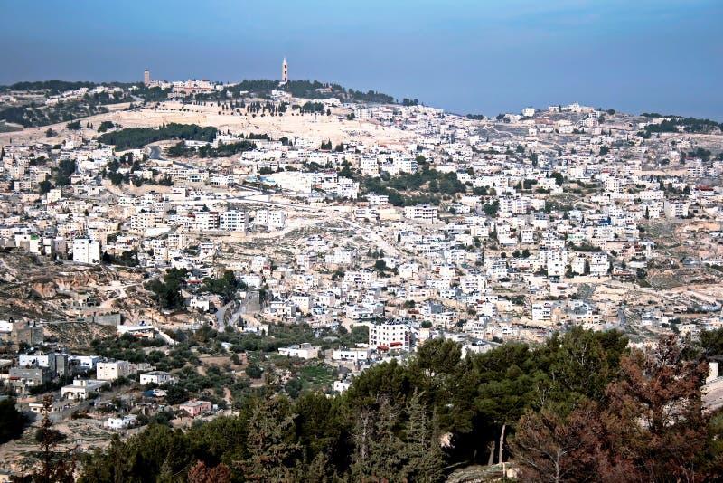 Panorama di Gerusalemme immagini stock