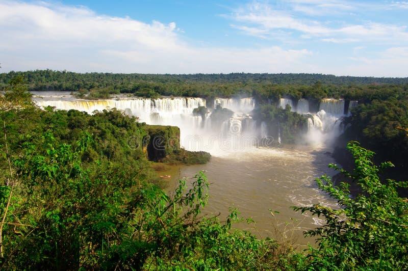 Panorama di Iguacu immagine stock