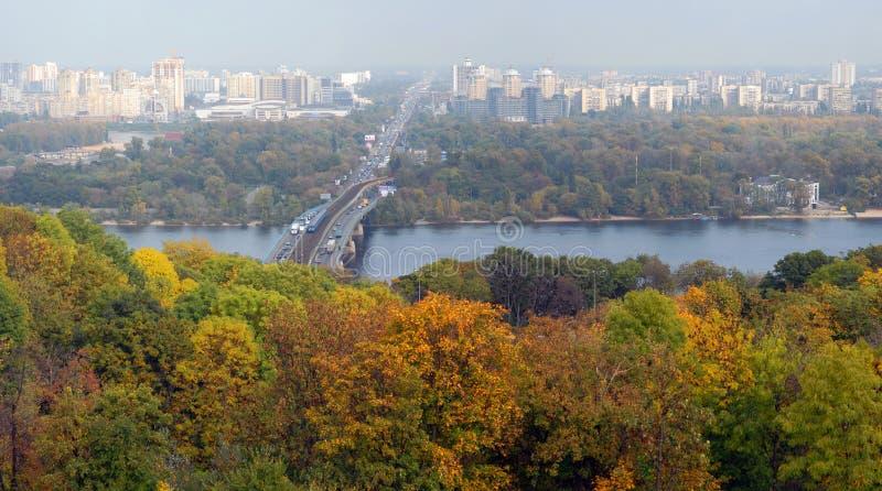 Download Panorama di Kiev fotografia stock. Immagine di kiev, fiume - 7324150