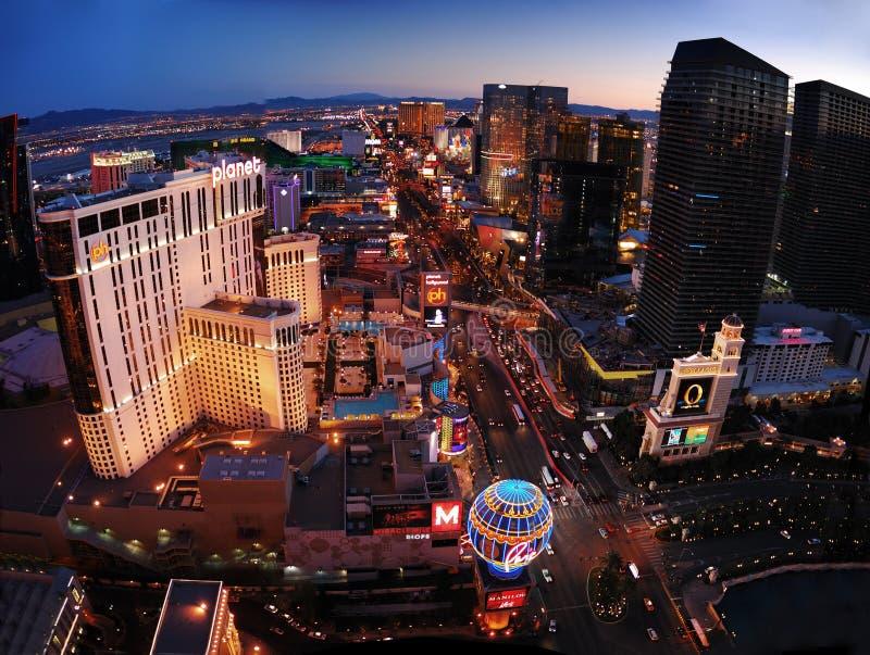 Panorama di Las Vegas immagini stock