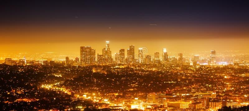 Panorama di Los Angeles fotografia stock