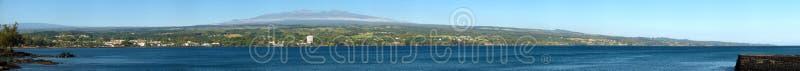 Panorama di Mauna Kea immagine stock libera da diritti