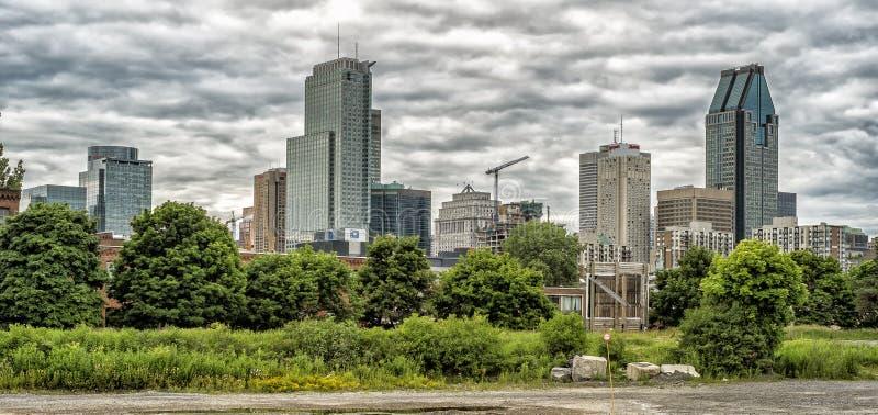 Panorama di Montreal fotografie stock