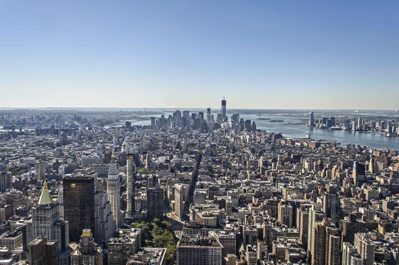 Panorama di New York fotografia stock libera da diritti