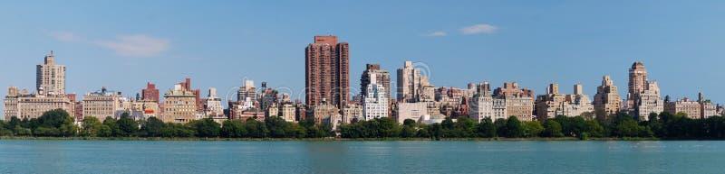 Panorama di New York City Central Park fotografie stock