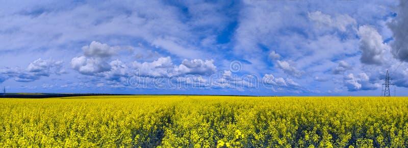 Panorama Di Paesaggio Fotografia Stock Libera da Diritti