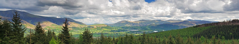 Panorama di paesaggio