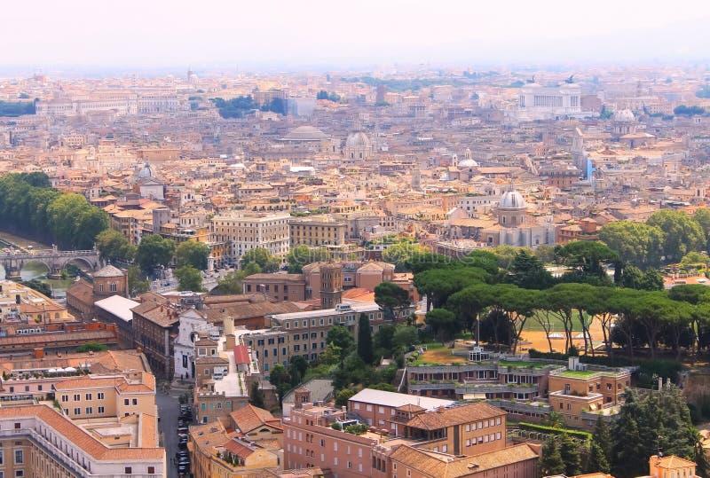 Panorama di Roma stock photography