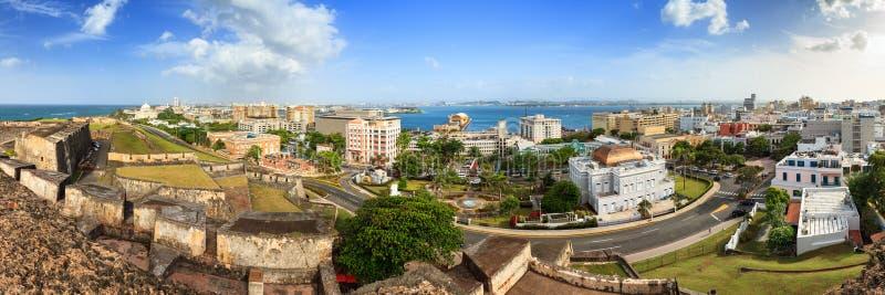 Panorama di San Cristobal immagini stock
