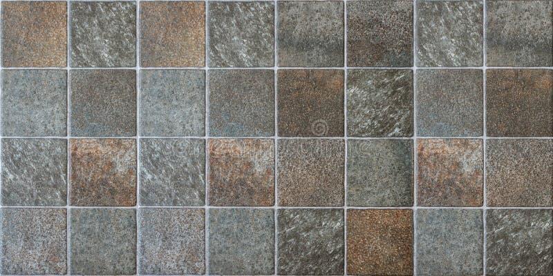 Panorama di struttura e del fondo della piastrella per pavimento fotografie stock libere da diritti