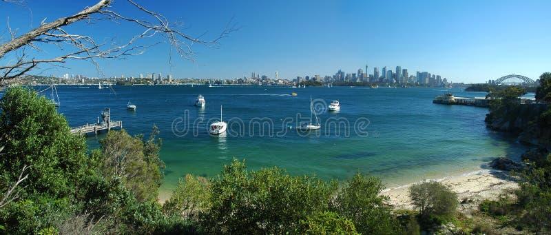 Download Panorama di Sydney fotografia stock. Immagine di porto - 7324002