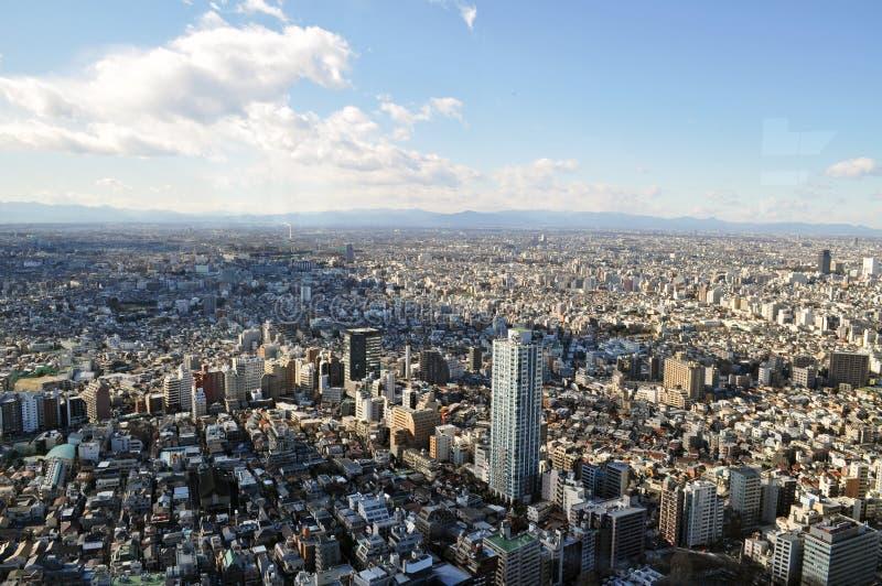 Panorama di Tokyo immagine stock libera da diritti