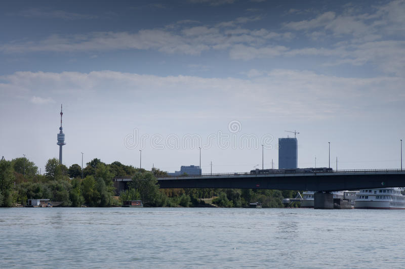 Panorama di Vienna immagini stock libere da diritti