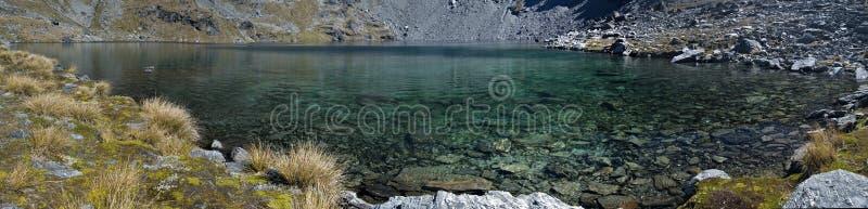 Panorama do alto do lago fotografia de stock royalty free