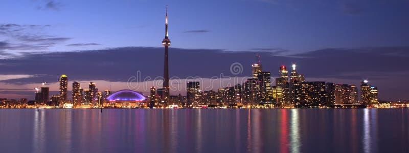 Panorama do beira-rio de Toronto foto de stock royalty free