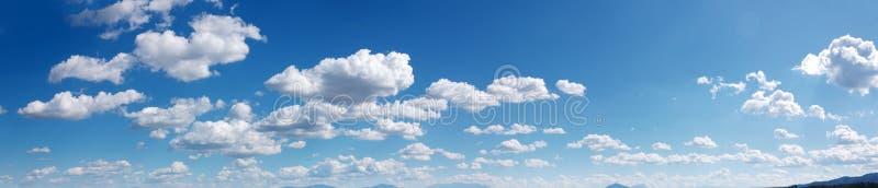 Panorama do céu imagem de stock