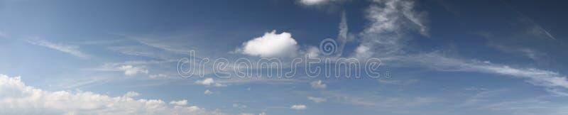 Panorama do céu fotos de stock