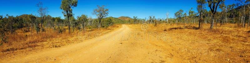 Panorama do interior Austrália foto de stock