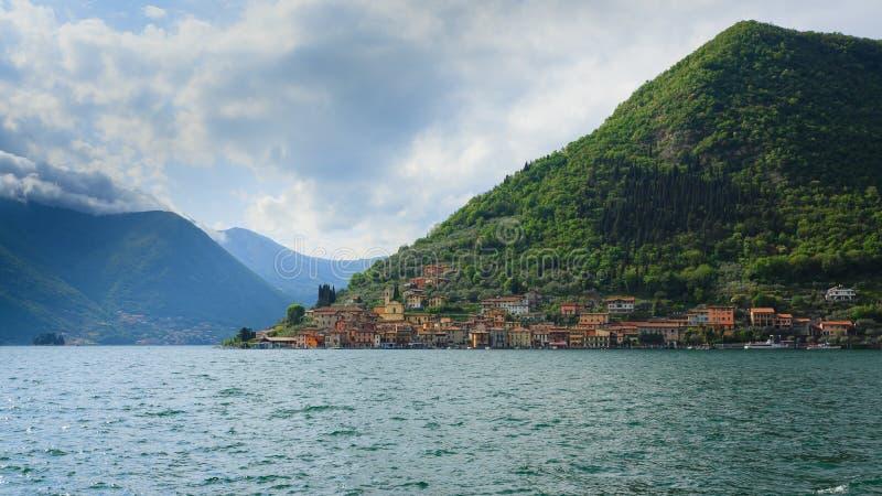 Panorama do lago de imagem de stock royalty free
