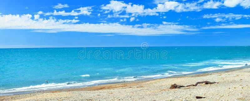 O mar de Tasman fotografia de stock