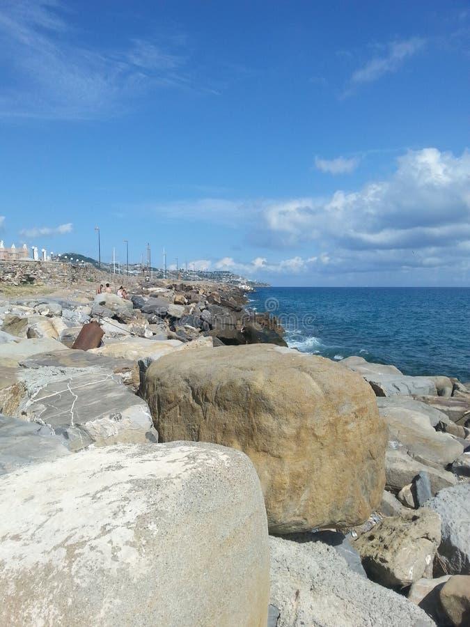 Panorama do mar imagem de stock royalty free