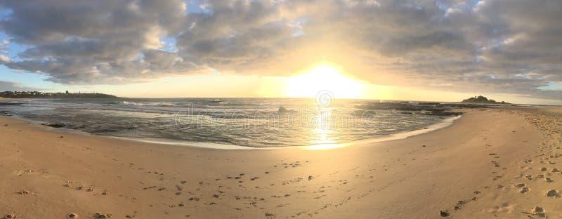 Panorama do nascer do sol fotos de stock